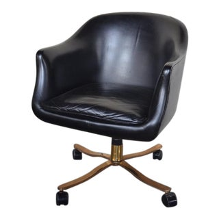 Vintage Zographos Swivel Office Chair