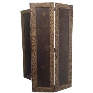 Maitland-Smith 2-Panel Sliced Bamboo Screen