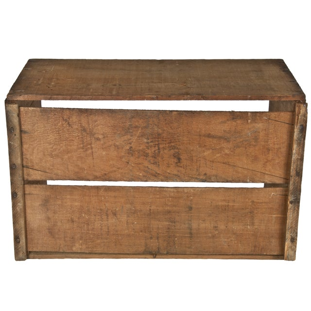 Vintage Rite Grade Wood Apple Shipping Crate - Image 5 of 5