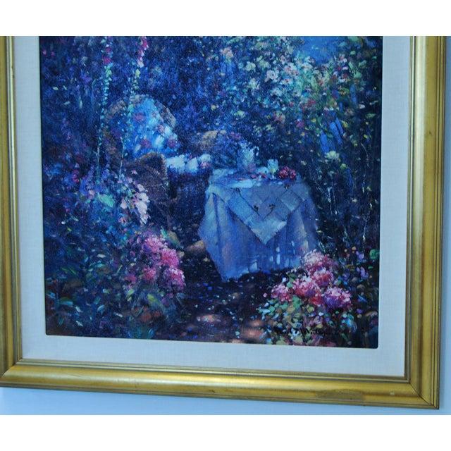 "Oil on Canvas - Paul Matthews ""Trellished Path"" - Image 4 of 7"
