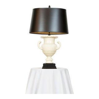 Pair of Alabaster Urn Lamps