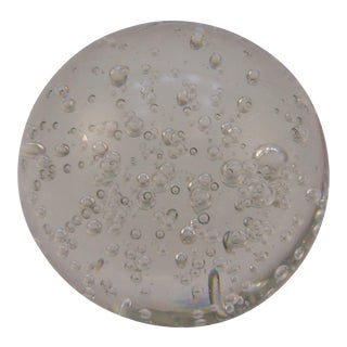 Vintage Control Bubble Paperweight