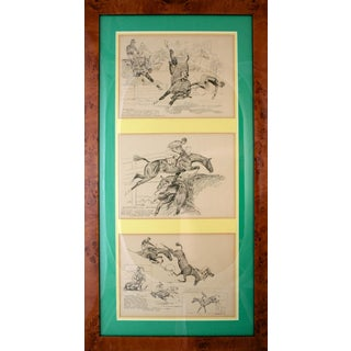 """""""Paul Brown Triptych Iii"""" Etching"""