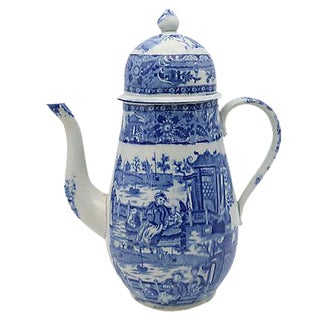 1830s English Staffordshire Coffeepot