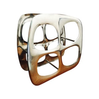 Modern Biomorphic Wine Rack