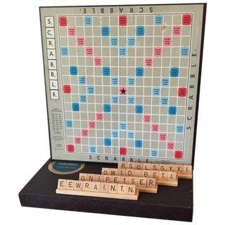 Mid-Century Scrabble Board Game