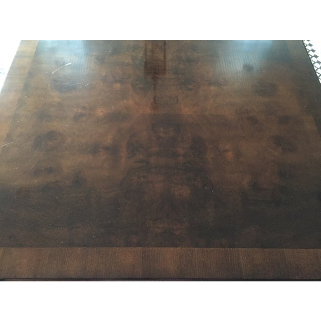 Henredon Dining Table With 2 Leaves - Image 7 of 9