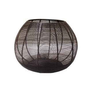 Multi-Functional Steel Wire Ottoman