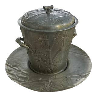 Japonesque Forged Aluminum Ice Bucket With Tray