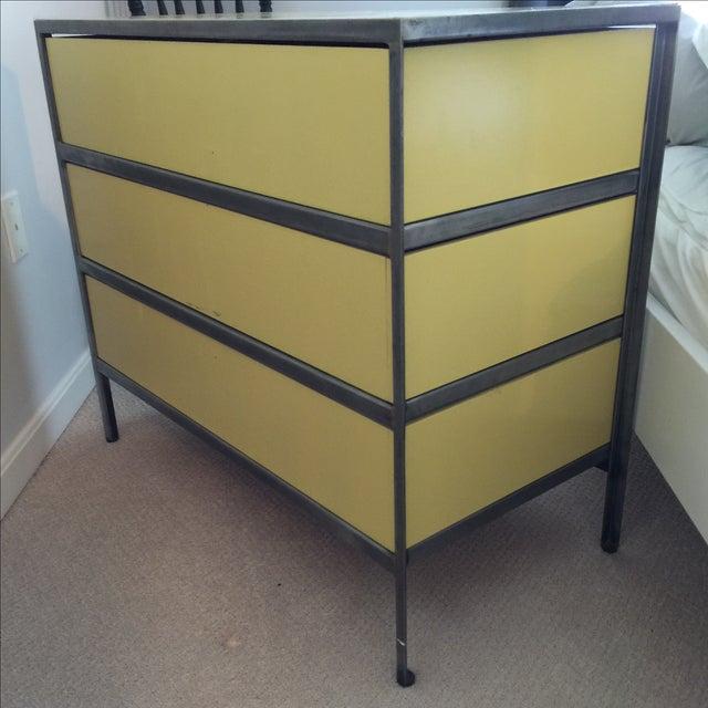 George Nelson for Herman Miller Steel/Wood Dresser - Image 6 of 7