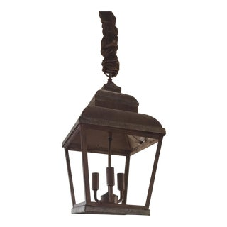 Copper Indoor/Outdoor Lantern