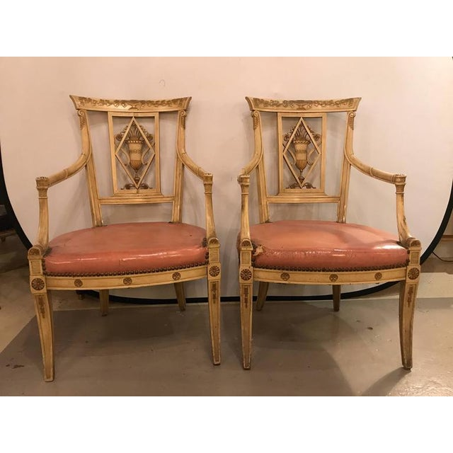 Maison Jansen Arm Chairs - a Pair - Image 3 of 11