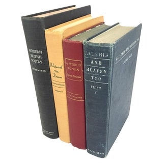 Antique Book Bundle - Set of 4