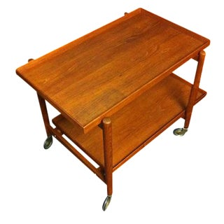 Poul Hundevad Teak Bar Cart