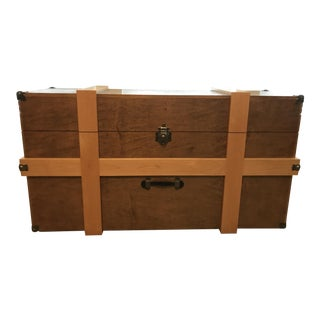 Custom Made Treasure Trunk Entertainment Center