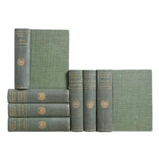 Green & Gilt Waverley Novels, S/7