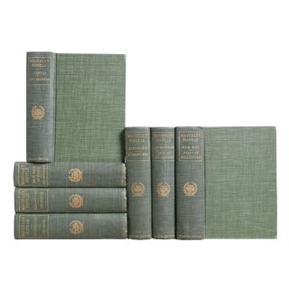 Green & Gilt Waverley Novels, S/7