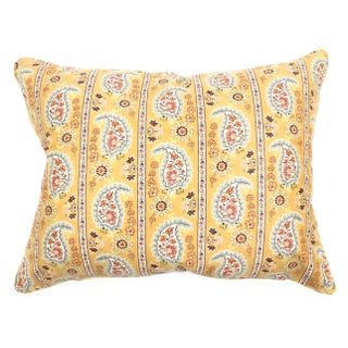 Vintage French Paisley Pillow