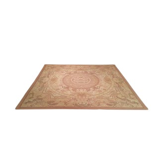 Traditional Hand Made Knotted Rug - 10′ × 10′