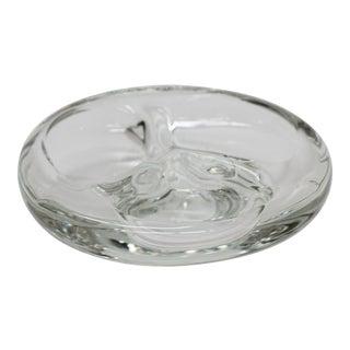 Mid-Century Steuben Glass Ashtray