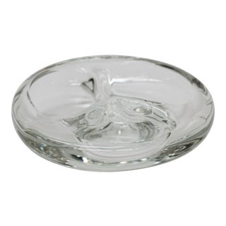 Mid-Century Steuben Glass Ashtray