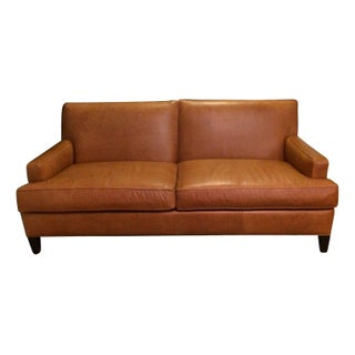 Leather Apartment Sofa from Ethan Allen