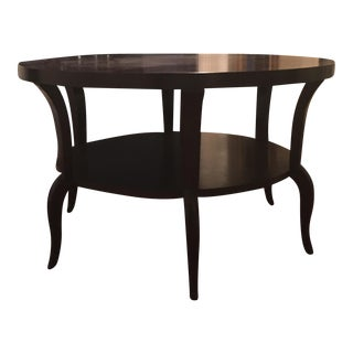 Wood Center Hall Table