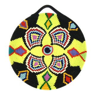 Multicolored Moroccan Tribal Wool Tray