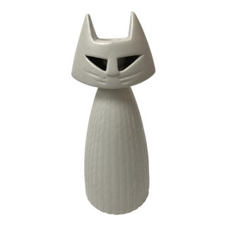 Royal Haeger Cat Figure Candlestick Holder