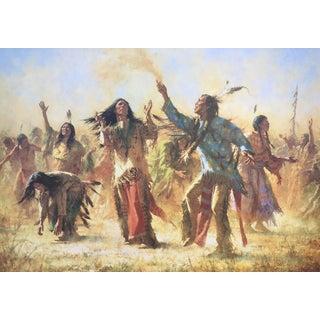 Howard Terpning The Ghost Dance Giclée on Canvas