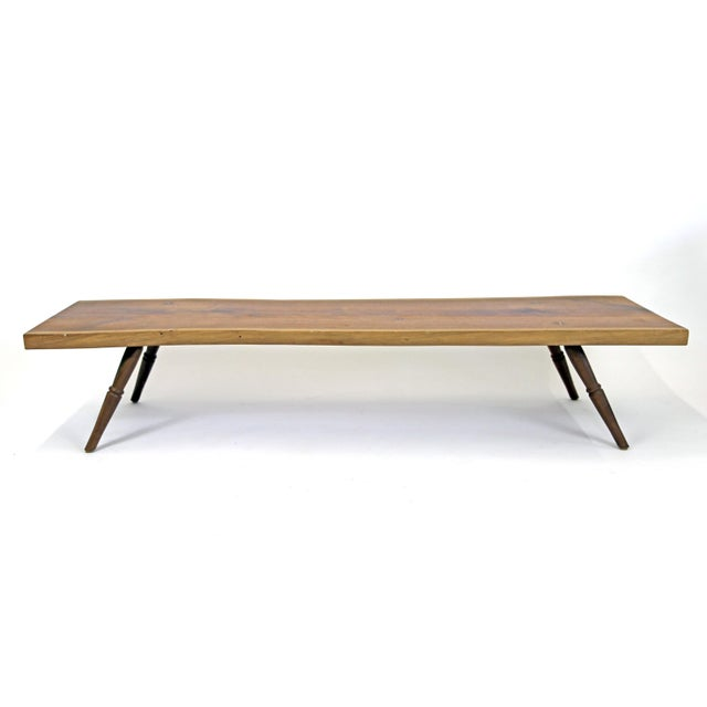 Shimna Live Edge Black Walnut Slab Coffee Table Chairish