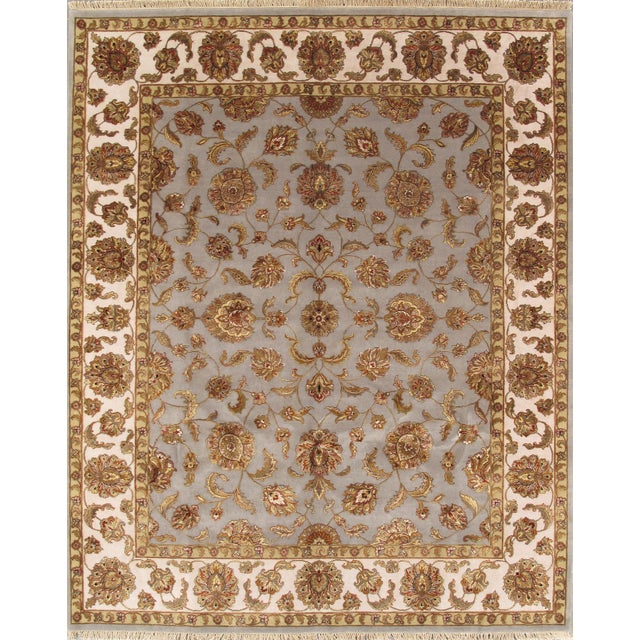 Agra Traditional Hand-Knotted Rug - 8'x10' - Image 1 of 1