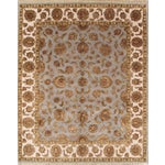 Image of Agra Traditional Hand-Knotted Rug - 8'x10'