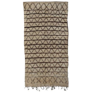 Early and Unusual Beni Ouarain Carpet
