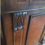 Image of Walnut Burl and Oak Sideboard/Buffet