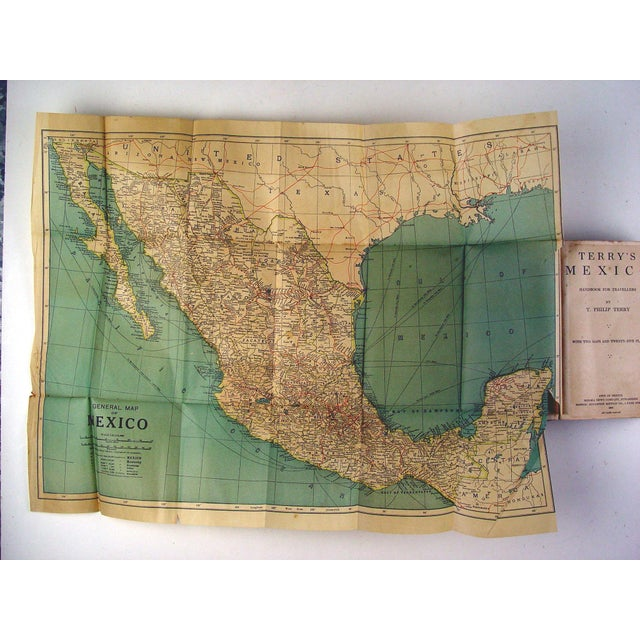 Terry's Guide to Mexico with Maps, 1909 - Image 5 of 5