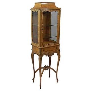 John M. Smythe Furniture Co. Petite Vintage Curio
