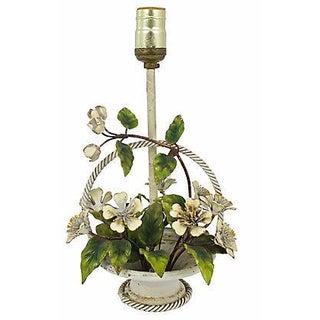 Italian Hand-Painted Tole Lamp