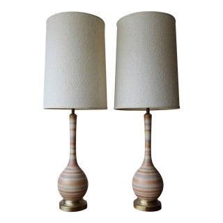 Pair of Raymor Lamps