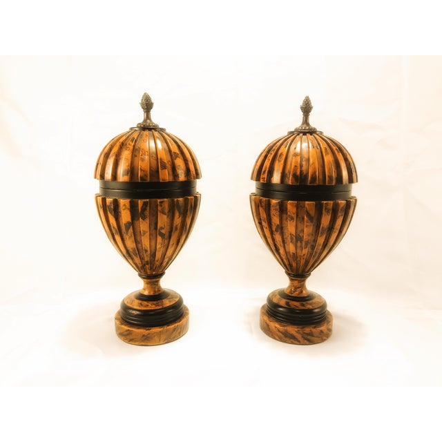 Theodore Alexander Urns - A Pair - Image 8 of 8