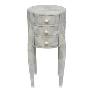 Diminutive Shagreen Chest of Drawers by Maitland-Smith