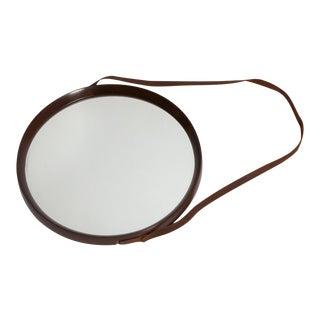 1950's Walnut Mirror