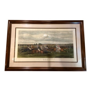 Antique Hand Colored Engraving After JF Herring