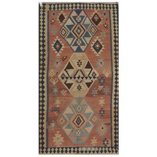 "Vintage Persian Kilim - 5' x 10'6"""