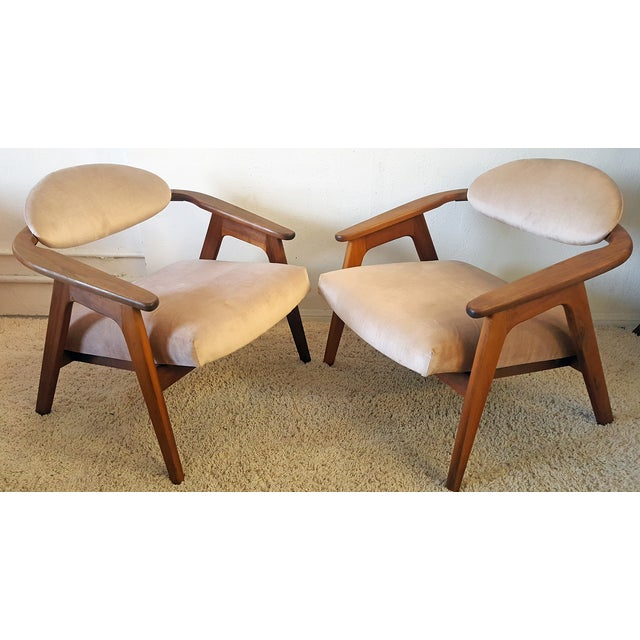 Adrian Pearsall Craft Captain Chairs - Pair - Image 6 of 8