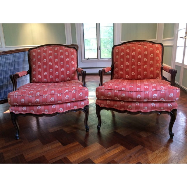 Baker Furniture Bergere Chairs - A Pair - Image 4 of 11