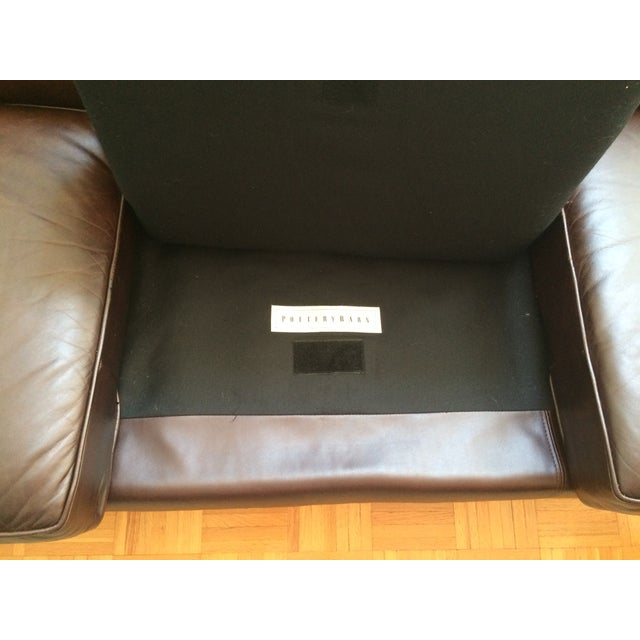 Pottery Barn Brooklyn Leather Sofa - Image 5 of 7