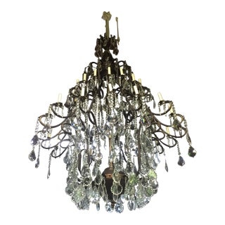 Drop Crystal Chandelier