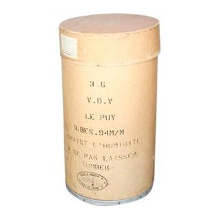 Vintage French Statement Tissue Box