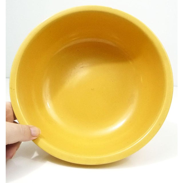 Rare Promotional Fiesta Yellow Salad Bowl - Image 6 of 7